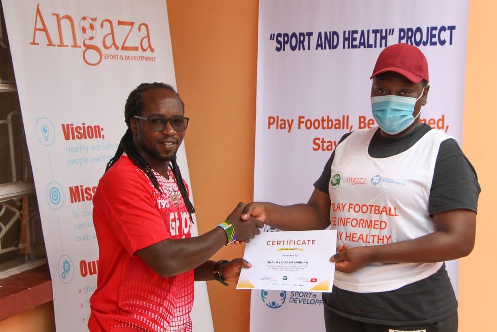 Angaza Good health and well being